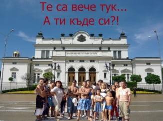 "Proteste masive la Sofia fata de ""rromanizarea Bulgariei"""