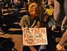 Proteste pentru Rosia Montana, ziua a patra