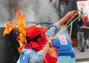 Proteste violente anti-FMI la Istanbul