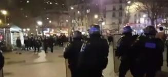 Proteste violente in Franta, noapte de noapte - zeci de persoane arestate