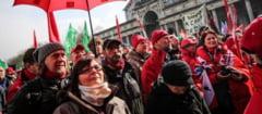 Proteste violente la Bruxelles: Austeritatea nu functioneaza!