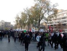 Proteste violente la Londra: Studentii ies din nou in strada
