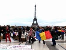 Protestele Rosia Montana nu dau semne de oboseala la Paris