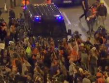 Protestele de amploare continua la Barcelona, dupa ce premierul Spaniei a refuzat o intalnire cu cel catalan (Video)