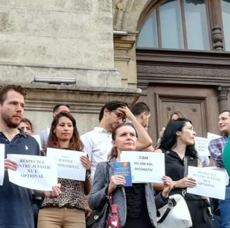 Protestele magistratilor ajung in toate colturile tarii. UPDATE Instantele si parchetele cu activitate suspendata