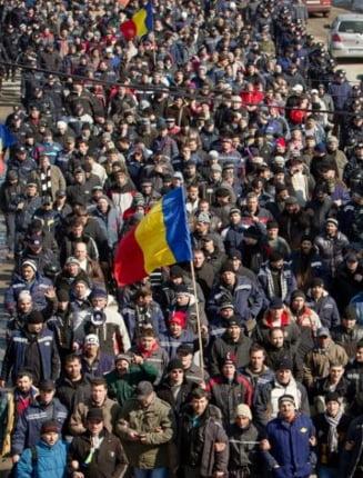 Protestele minerilor din Valea Jiului au ajuns in presa internationala