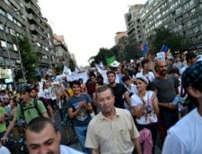 Protestele pentru Rosia Montana, in imagini - Fotografii din mijlocul manifestantilor