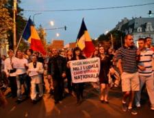 Protestul Rosia Montana in Piata Universitatii