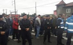 Protestul angajatilor RAAN s-a incheiat. Traficul rutier s-a reluat pe DN 67