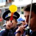 Protestul de la Cotroceni al politistilor se lasa cu demiteri la nivel inalt