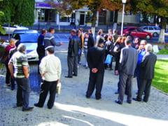 Protestul fostilor angajati Oltchim