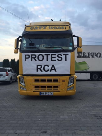 Protestul transportatorilor s-a incheiat: Au ajuns la o intelegere cu ASF - Pretul RCA, plafonat la 7.500 de lei