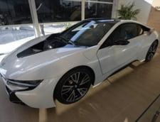 Prototipul noului BMW i8 hibrid, distrus din greseala