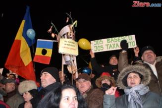Pun protestele romanilor economia in pericol?