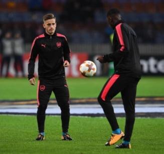"""Pustiul Vlad Dragomir a marcat pentru """"tineretul"""" lui Arsenal"""