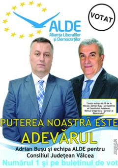 Puterea ALDE este adevarul!