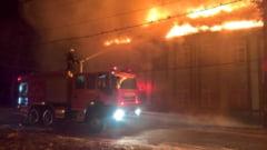 Puternic incendiu la un spital de psihiatrie din Timis - zeci de bolnavi au fost evacuati