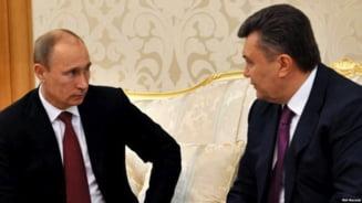 Putin, discutie cu Ianukovici la Soci - nu se afla pe programul oficial