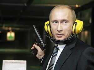 Putin, lider mondial iesit din tipare - imagini neobisnuite (Galerie foto)