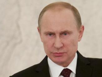 Putin a clipit primul in Ucraina