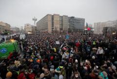 Putin a promulgat o lege prin care cresc amenzile date in timpul protestelor, in urma unui val de manifestatii pentru sustinerea lui Navalnii