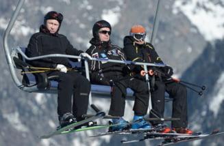 Putin a schiat la Soci, inaintea inceperii Jocurilor Olimpice de iarna