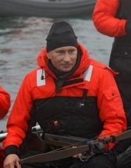 Putin a urmarit o balena cu respiratie urat mirositoare