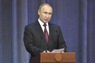 Putin anunta ca Rusia isi suspenda participarea la Tratatul Fortelor Nucleare si va dezvolta rachete supersonice