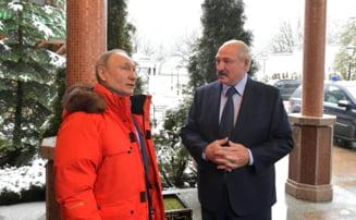 Putin incearca sa uneasca Rusia cu Belarusul prin petrol, pentru a deveni presedintele unui super-stat