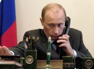 Putin intra in jocul spionajului: Vrea sistem impotriva interceptarilor telefonice