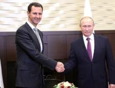 Putin l-a felicitat pe Bashar al-Assad in Rusia pentru lupta impotriva terorismului din Siria