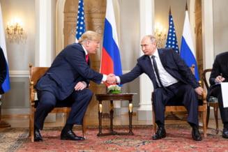 Putin l-a invitat pe Trump la Moscova. Reactia Casei Alba: Presedintele este deschis ideii unei vizite in Rusia UPDATE