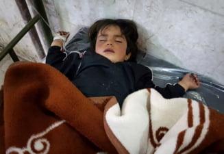 Putin nu se lasa impresionat de copiii ucisi in Siria: Rusia a blocat prin veto o noua rezolutie ONU impotriva lui Assad dupa atacul chimic