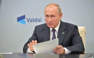 Putin respinge criticile lui Donald Trump referitoare la afacerile familiei Biden