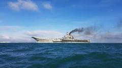 Putin sfideaza Marea Britanie: Un convoi impresionant de nave rusesti putea fi vazut cu ochiul liber de pe coasta britanica (Foto & Video)