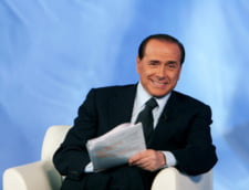 Putin si Berlusconi, la un pahar de vin in Crimeea