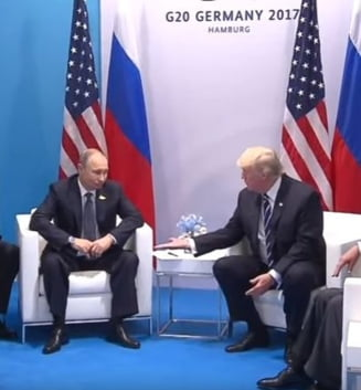Putin si Trump, prima data fata in fata: Sunt incantat sa va intalnesc personal (Video)