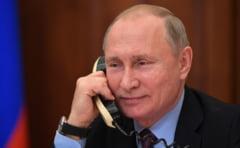 Putin si Zelenski au discutat telefonic despre conflictul din estul Ucrainei si si-au exprimat sprijinul pentru armistitiul care incepe astazi