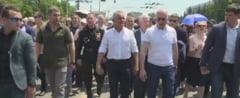 """R. Moldova: Mii de oameni la mitingul lui Plahotniuc, care vrea si alegerea unui nou presedinte, """"din neamul nostru"""""""