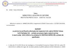 RAPORT OFICIAL: LAPTE FALSIFICAT CU TOXINE PENTRU ELEVII TULCENI!