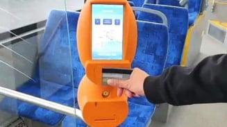 RAT Brasov introduce un nou sistem de plata cu cardul in autobuze