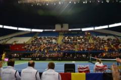 RELATARE DIN MONTREAL/ Meciul de la Fed Cup, o adevarata SARBATOARE pentru romanii din Canada (FOTO)