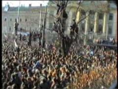 REMEMBER/ In urma cu 25 de ani, Aradul a iesit in strada impotriva lui Ceausescu. CUM A FOST - VEZI VIDEO!