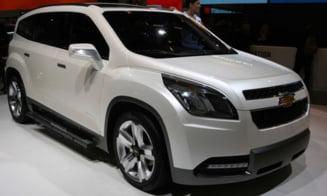 Rabla 2011: Chevrolet Orlando, vandut cu reducere de 2.700 de euro
