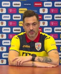 "Radoi, la debutul ca antrenor al echipei nationale: "" Suntem intr-o mare dilema cu privire la primul 11. E posibil sa il vedem pe Camora in urmatoarele meciuri """