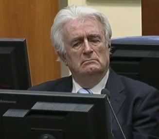 Radovan Karadzic, condamnat la inchisoare pe viata, dupa ce a contestat sentinta initiala de 40 de ani