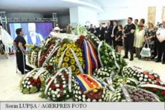 Radu Beligan a fost inmormantat cu onoruri militare la Cimitirul Bellu