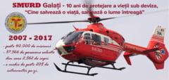 Raed Arafat la aniversarea a 10 de ani de SMURD Galati