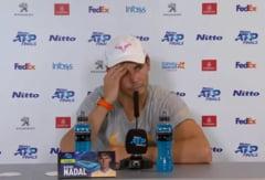"""Rafael Nadal, scos din sarite de o intrebare stranie: """"E o prostie!"""" (Video)"""