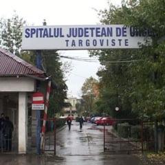 Rafuiala cu rangi si bate la Spitalul de Urgenta din Targoviste